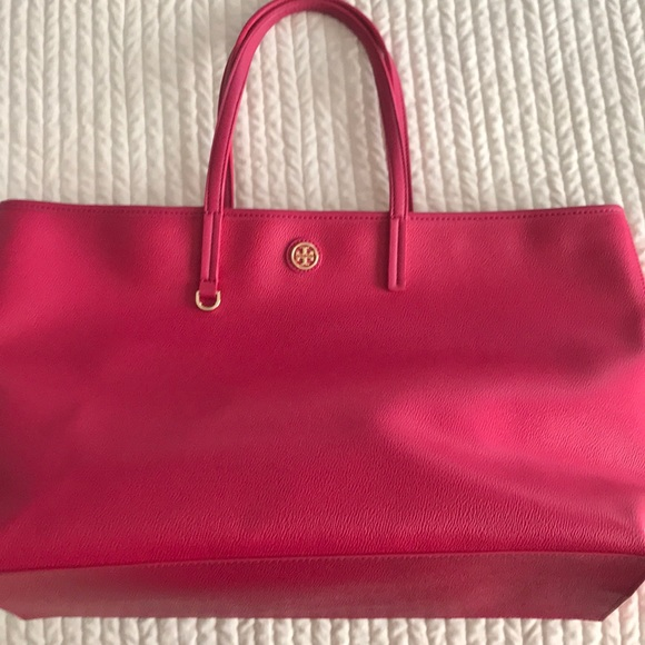 cead973b37d Tory Burch Bags | Hot Pink Tote | Poshmark